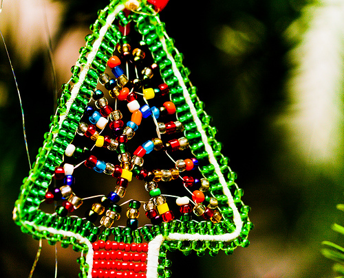 African christmas tree for African christmas decoration